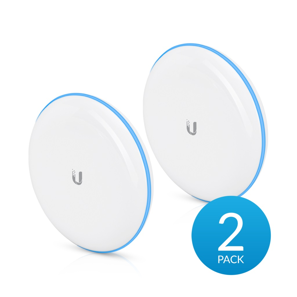 UBIQUITI BUILDING-TO-BUILDING BRIDGE 1+ GBPS 60 GHZ 2-PACK