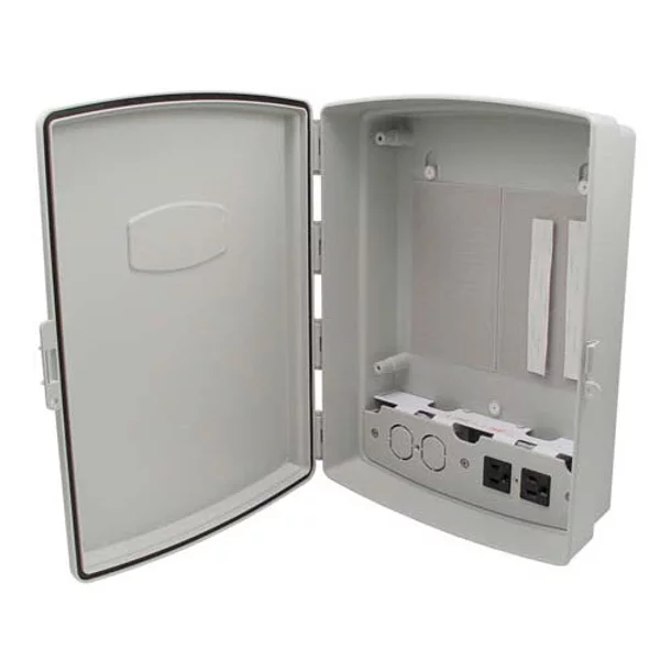 HANA WIRELESS ABS NEMA 14X10X4 WIRELESS ENCLOSURE W/120VAC