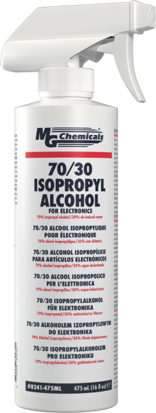 MG CHEMICALS 70/30 ISOPROPYL ALCOHOL W/ TRIGGER SPRAY