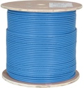 [PW6A9B] CAT6A 1000' BLUE SOLID UTP PLENUM NETWORK BULK CABLE (FT6/CMP)