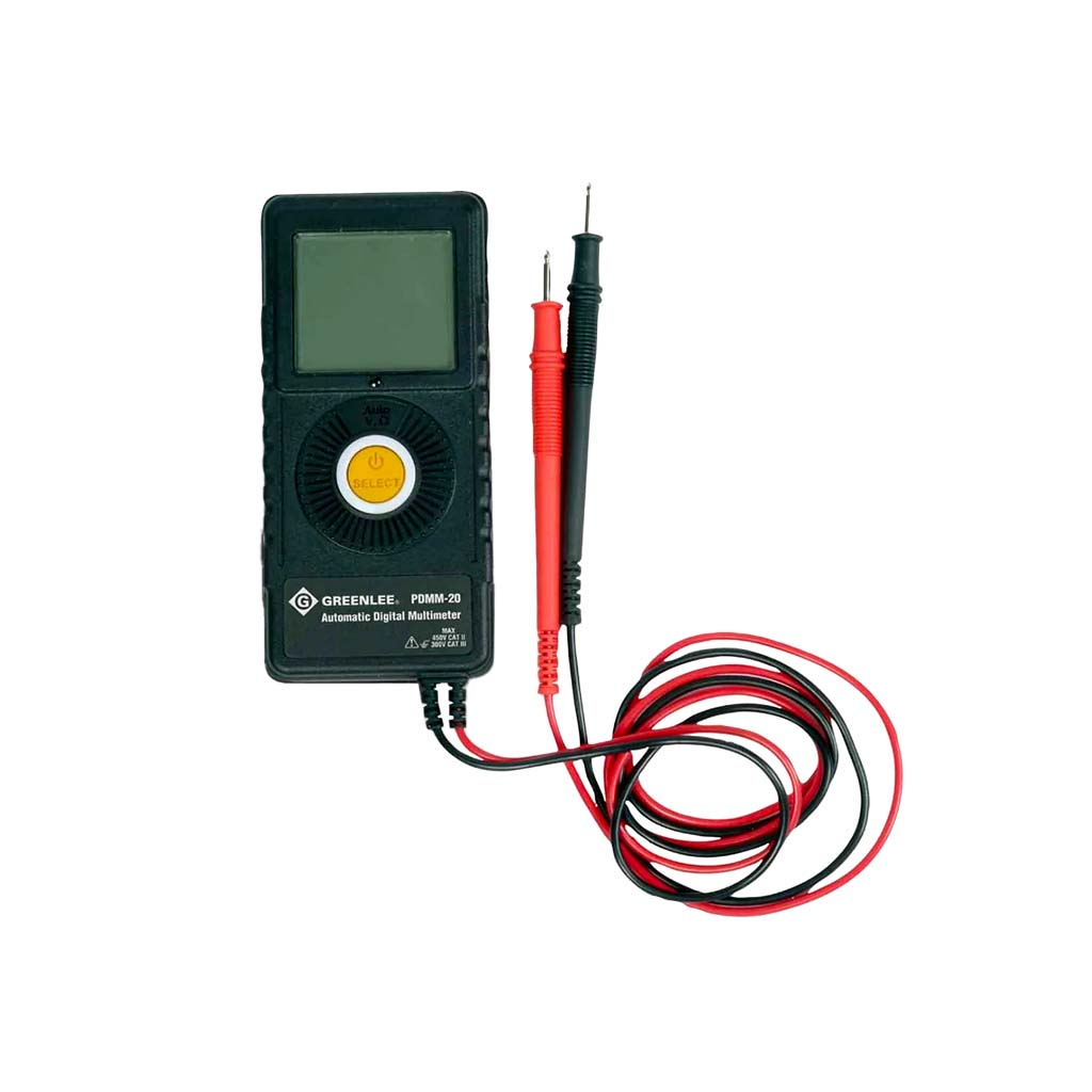 GREENLEE POCKET MULTIMETER (PDMM-20)