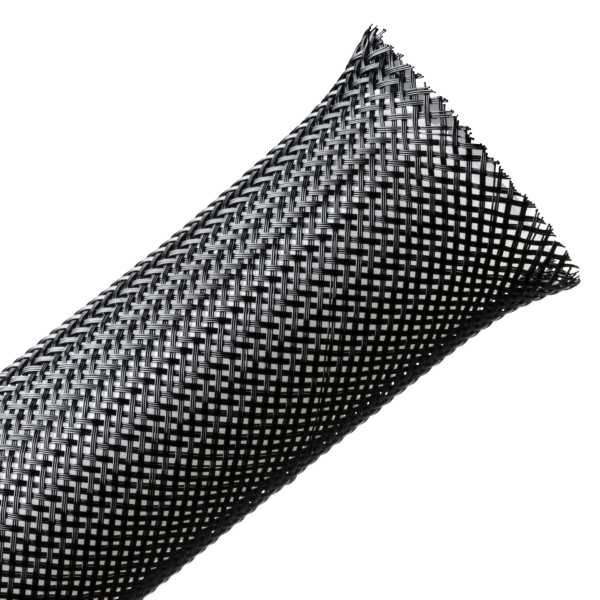 "HELLERMANN 1"" FRAY-RESISTANT EXPANDABLE BRAIDED SLEEVING - 50'"