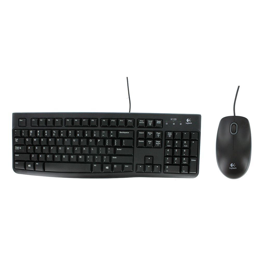 LOGITECH MK120 WIRED COMBO (MOUSE/KB)