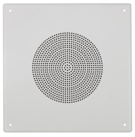 "FACTOR 8"" CEILING 5W (70V) SQUARE SPEAKER  - WHITE"