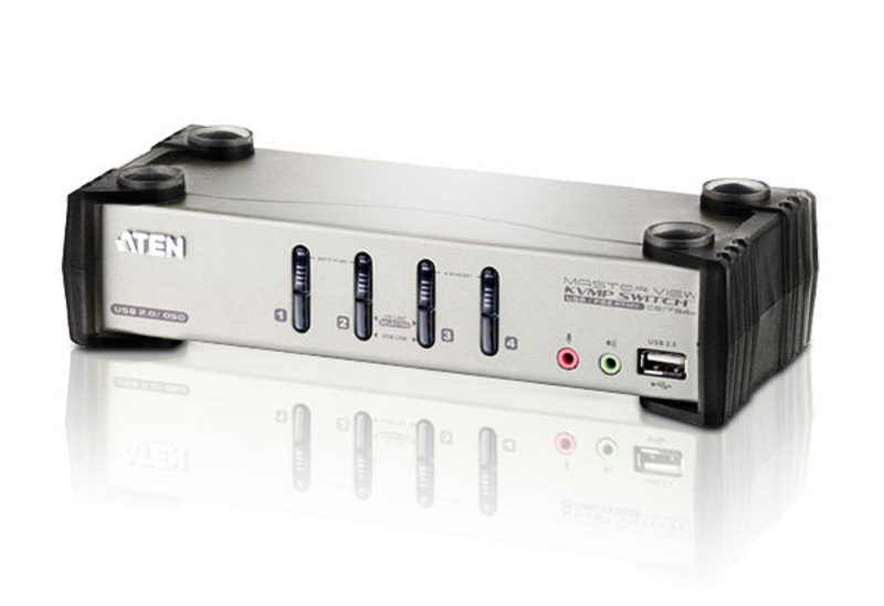 [CS1734B] ATEN 4-PORT VGA/USB KVM SWITCH