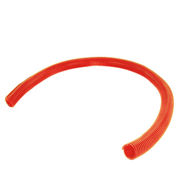 "0.75"" SPLIT WIRE CONVOLUTED LOOM ORANGE - 50'"