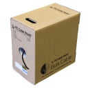 [PW511] CAT5E 1000' BLACK SOLID UTP DIRECT-BURIAL NETWORK BULK CABLE (Dry Block)