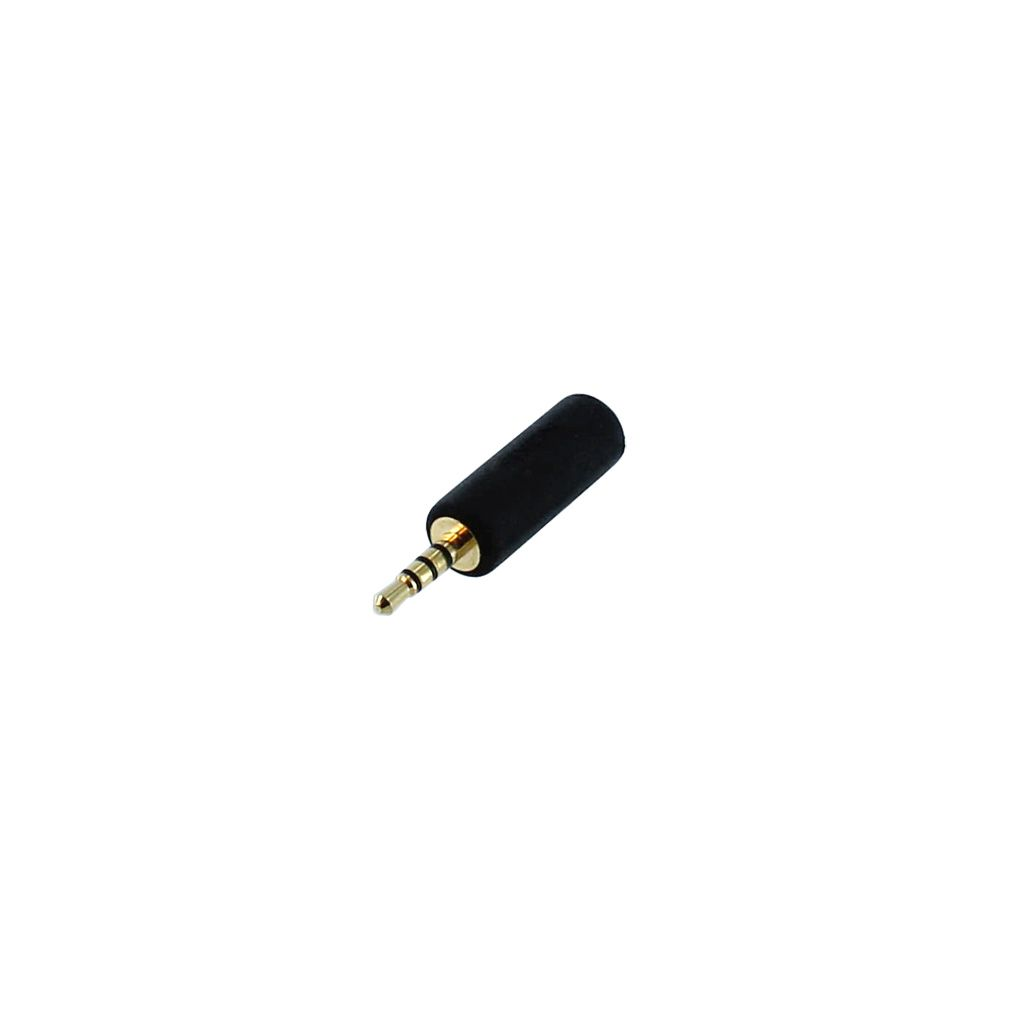 3.5MM 4C STEREO FEMALE JACK TO 2.5MM 4C STEREO MALE PLUG