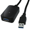 [UC603] USB 3.0 A/A M/F 16' REPEATER/EXTENSION CABLE