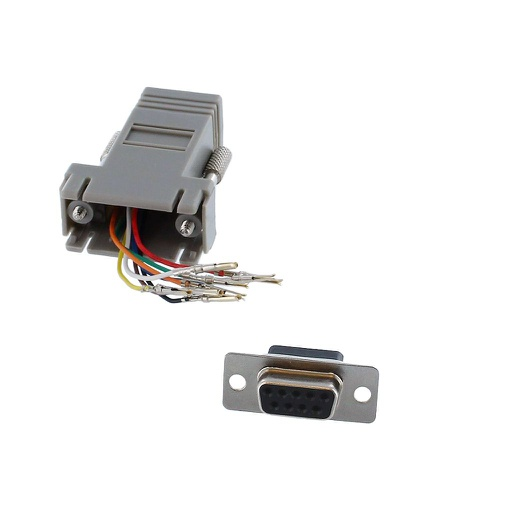 [JK846] DB9 FEMALE TO RJ45 FEMALE ADAPTER