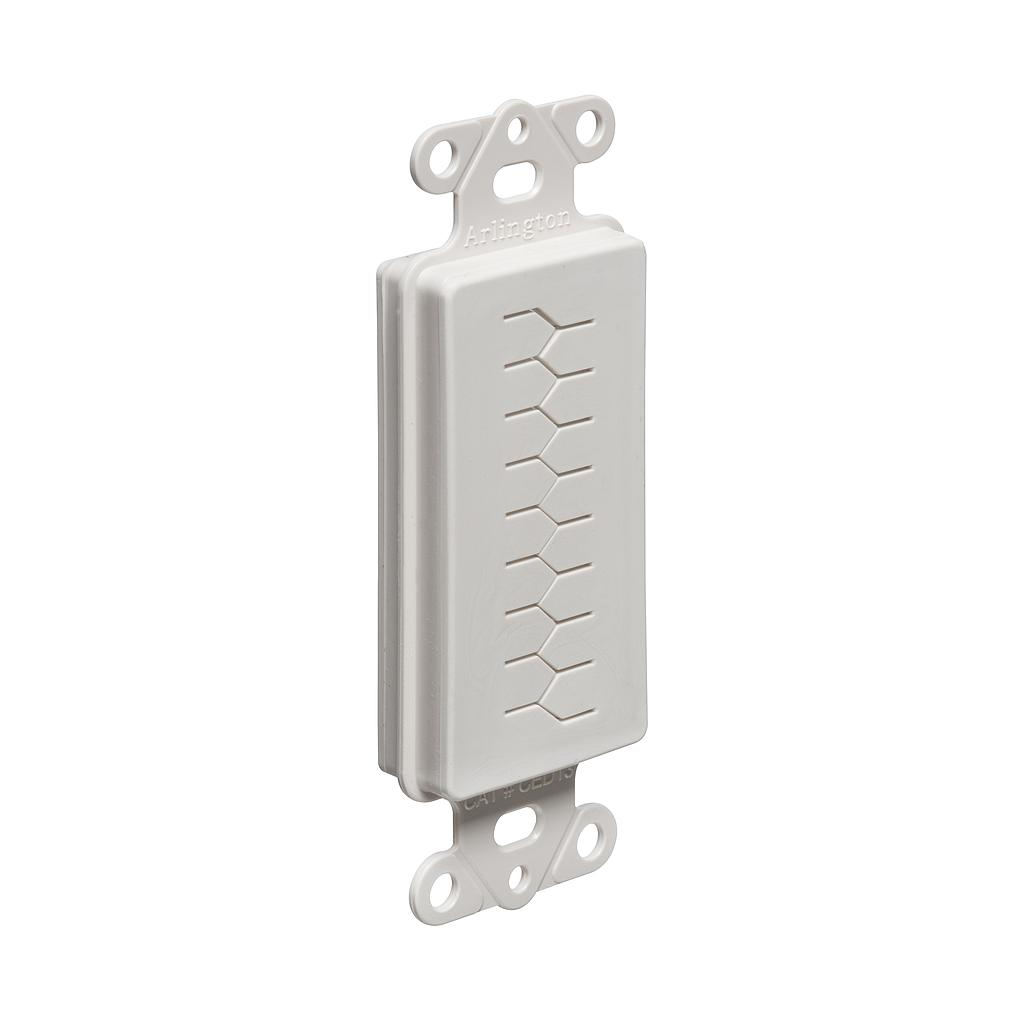 [SJ800PT] ARLINGTON 1-GANG CABLE ENTRY DEVICE WITH SLOTTED COVER