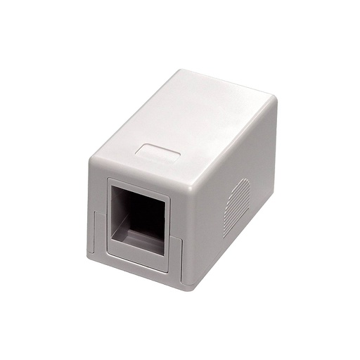 [SJ001B] 1-PORT KEYSTONE SURFACE MOUNT BOX
