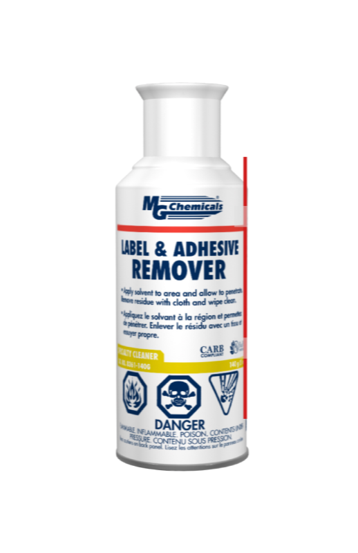 [CA8361] MG CHEMICALS LABEL & ADHESIVE REMOVER 140G (5OZ)