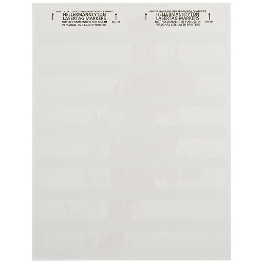 "[HTTAG63L] SELF-LAMINATING LABEL (1X0.5X1.33"") - WHITE (280 LABELS/BAG)"