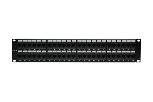 [PP4548] RJ45 CAT5E 48-PORT LOADED PATCH PANEL (110 TYPE)