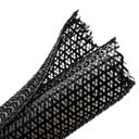 "[HTSW1B] HELLERMANN 0.75"" SPLIT WRAP BRAIDED SLEEVING - 50'"
