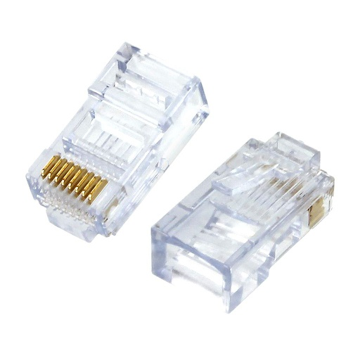 [EZC5E] EZ-RJ45 CAT5E CONNECTORS (50/BAG)