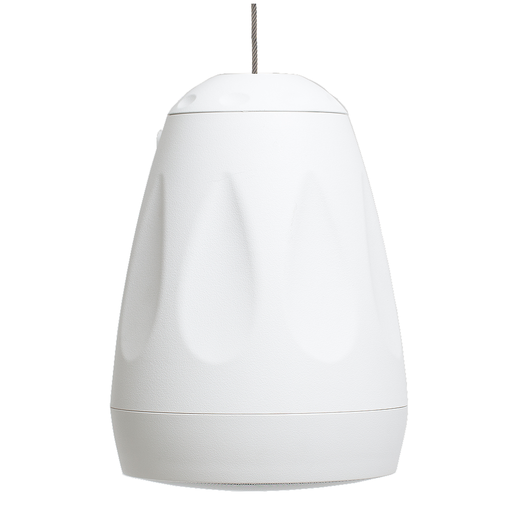 "[FEVER65W] FACTOR VERSA 6.5"" PENDANT/SURFACE-MOUNT SPEAKER - WHITE"