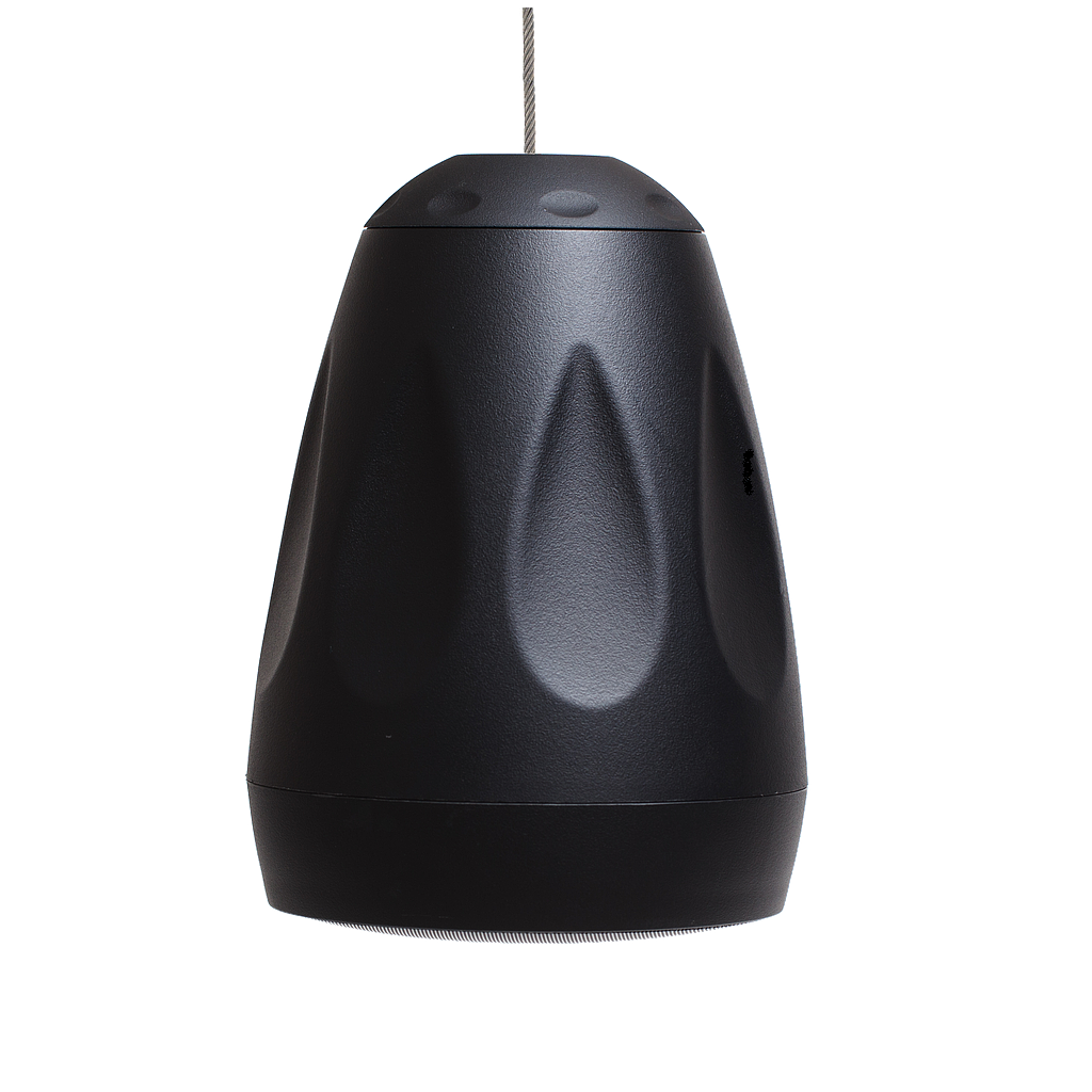 "[FEVER65B] FACTOR VERSA 6.5"" PENDANT/SURFACE-MOUNT SPEAKER - BLACK"