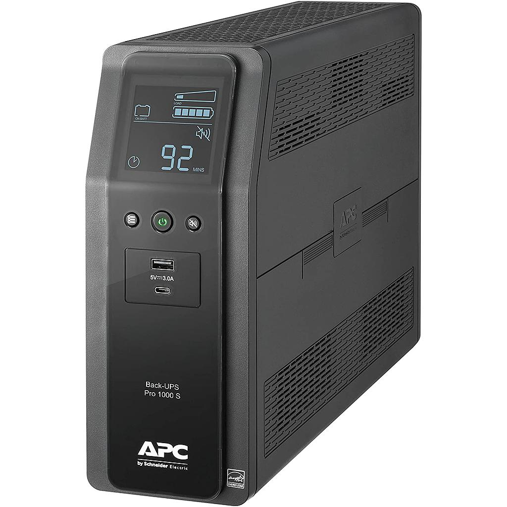 [MC1000] APC 10-OUTLET LCD BACK-UPS PRO UPS (600W/1000VA)
