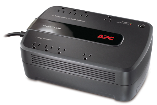 [MC650] APC 8-PORT BACK-UPS ES UPS (390W/650VA)