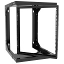 [HA12UCPWR] HAMMOND 12U CTR PIVOTING ADJ. WALL-MOUNT RACK