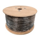 [NC590S] 500' RG59+18-2/SIAMESE 3GHZ COAXIAL CABLE (95% BRAIDED) (FT4/CMG)