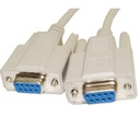 NULL MODEM DB9 F/F CABLE