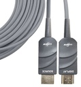 HDMI ACTIVE OPTICAL PLENUM (FT6) FIBER CABLE UHD 4K