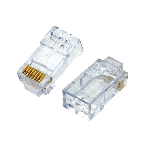 [EZC6] PLATINUM TOOLS EZ-RJ45 CAT6 CONNECTOR (50/BAG)