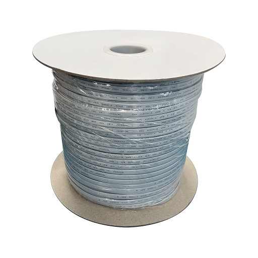 [PW444] 1000' RJ12-6C SILVER PHONE WIRE