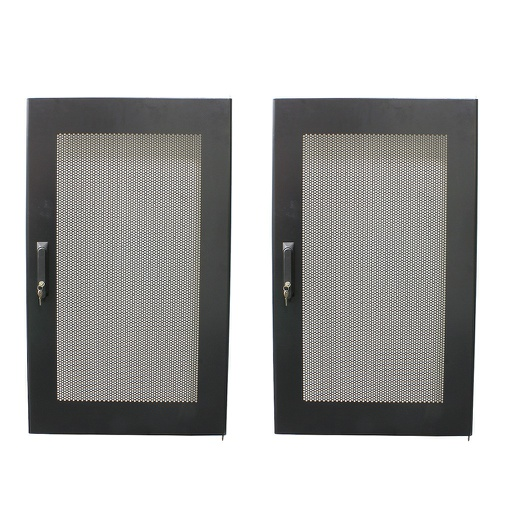 [TOR22UN] 22U EB REAR STEEL DOOR WITH NEW LOCKS 2/BX