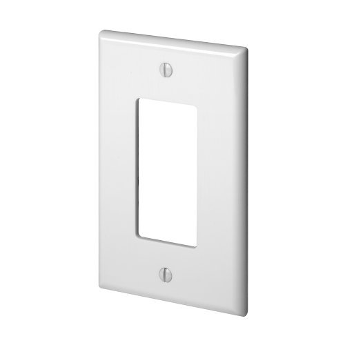 [WP1GBD] 1-GANG DECORA WALL PLATE - WHITE