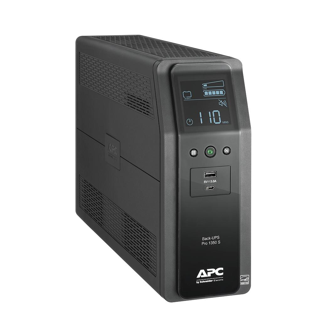 [MC1350] APC 10-OUTLET LCD BACK-UPS PRO UPS (810W/1350VA)
