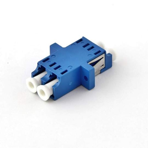 [LCLCFFSD1] LC-LC F/F SM DUPLEX PANEL MOUNT PLASTIC FIBER OPTIC ADAPTER