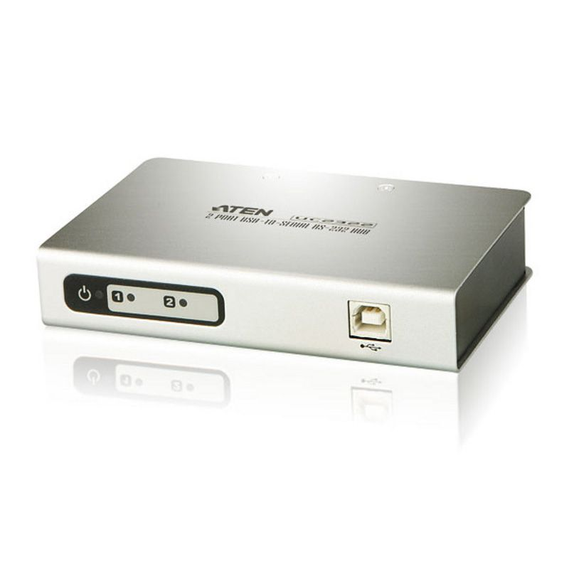 [UC2322] ATEN 2-PORT SERIAL(RS-232) TO USB 2.0 HUB