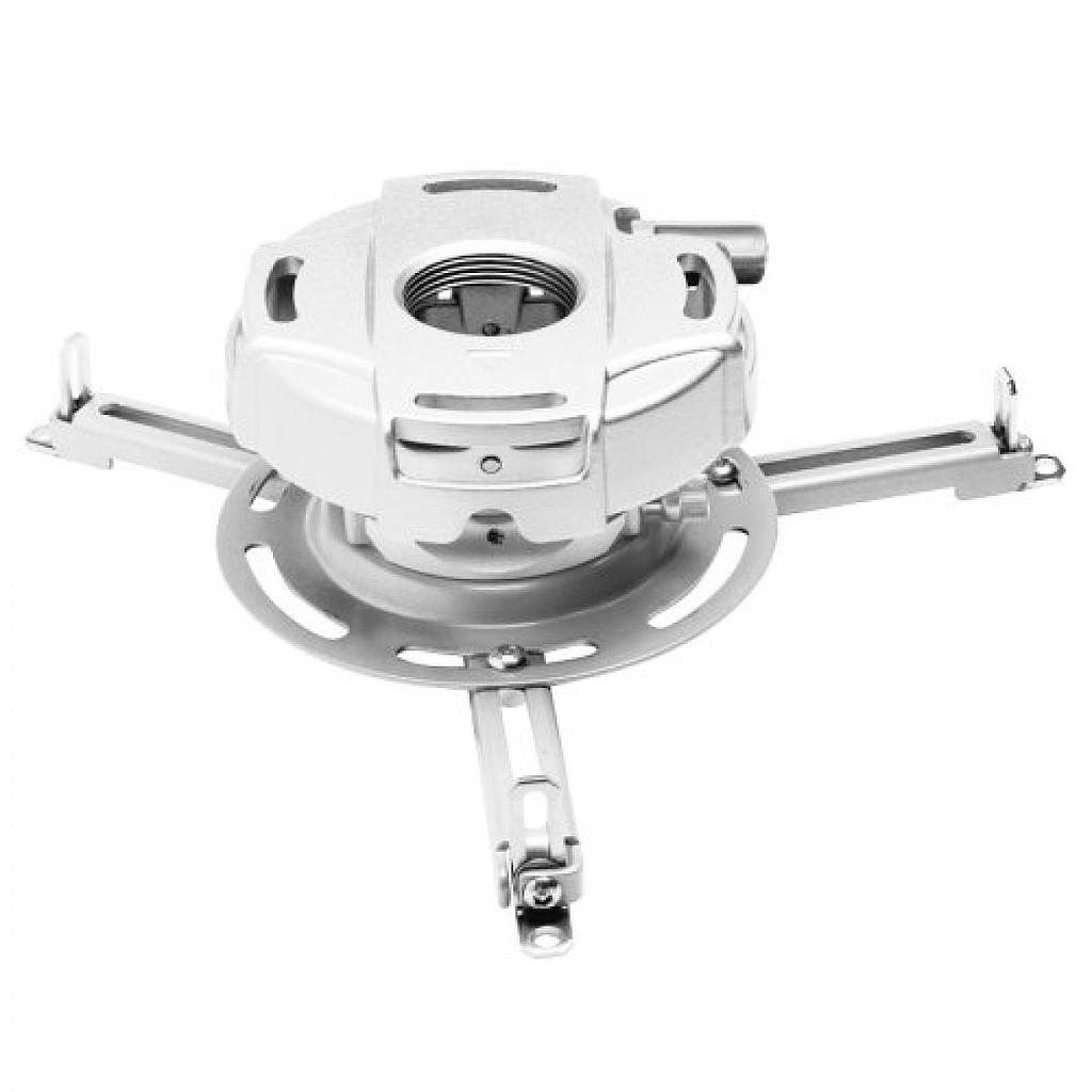 [PMPRGUNVW] PEERLESS PRECISION GEAR PROJECTOR MOUNT, UP TO 50LBS - WHITE