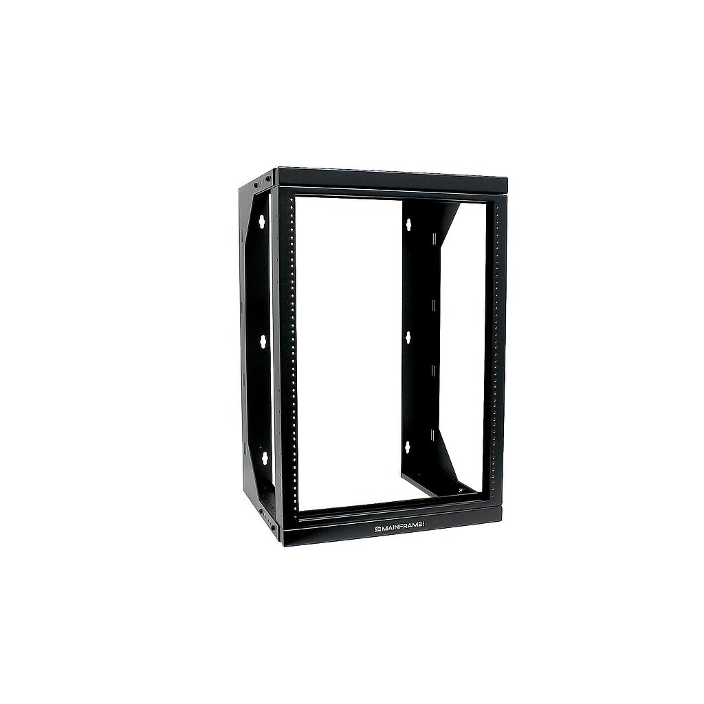 [MFADSRR15U] MAINFRAME 15U ADJUSTABLE 18″-26″ DUAL SWING RELAY RACK