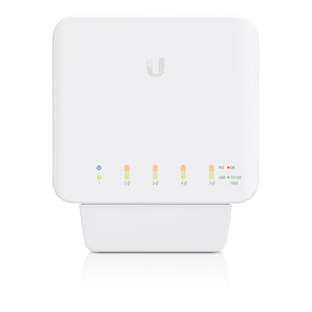 [UBUSWFLEX] UBIQUITI UNIFI 5-PORT POE+ FLEX SWITCH (46W)