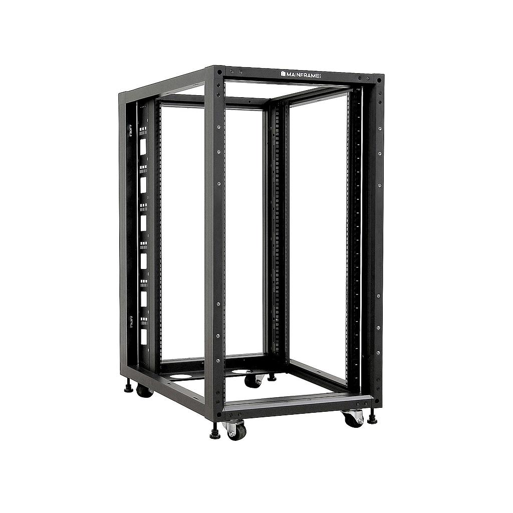 [MFOFSR422U] MAINFRAME 22U 4-POST OPEN FRAME SERVER RACK