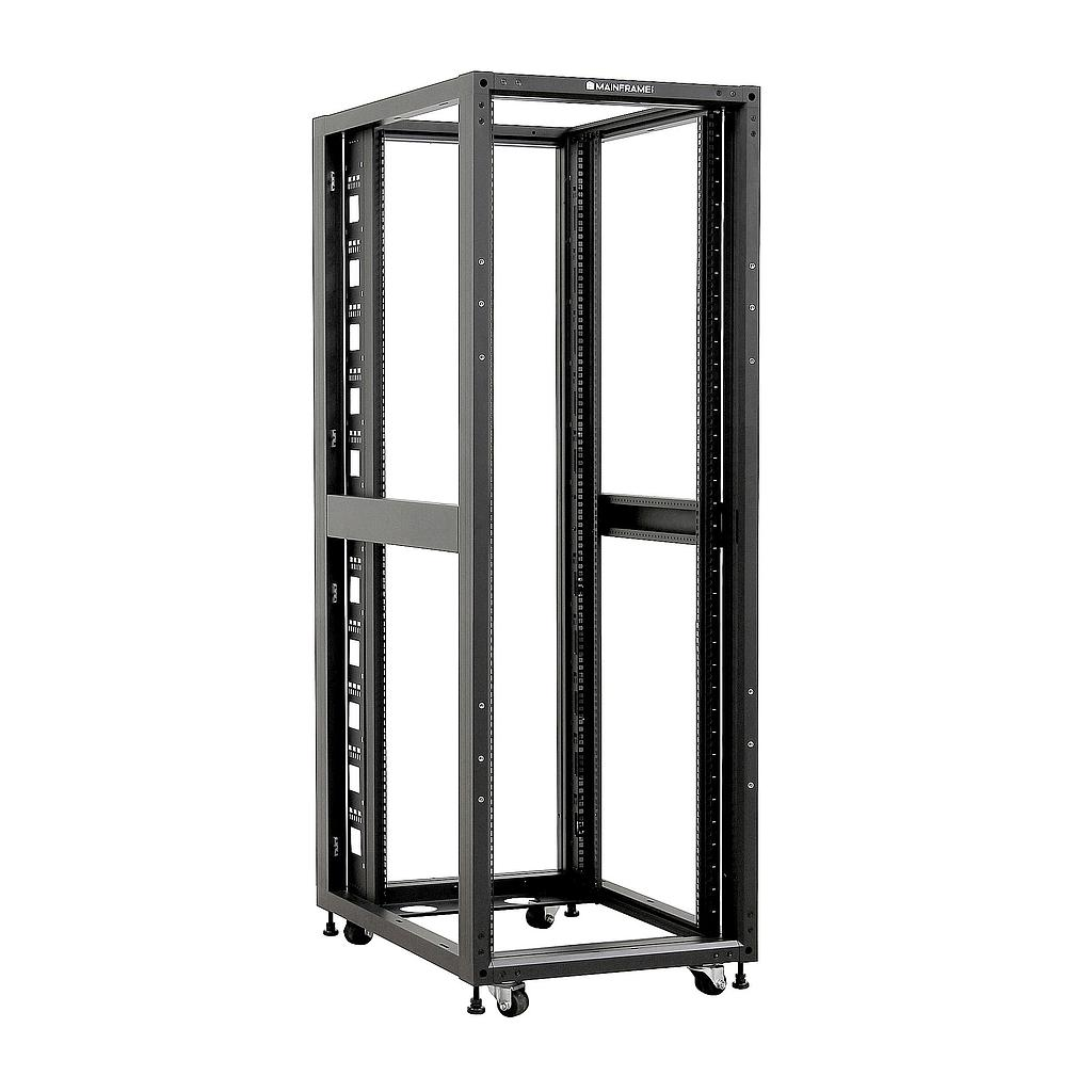 [MFOFSR432U] MAINFRAME 32U 4-POST OPEN FRAME SERVER RACK