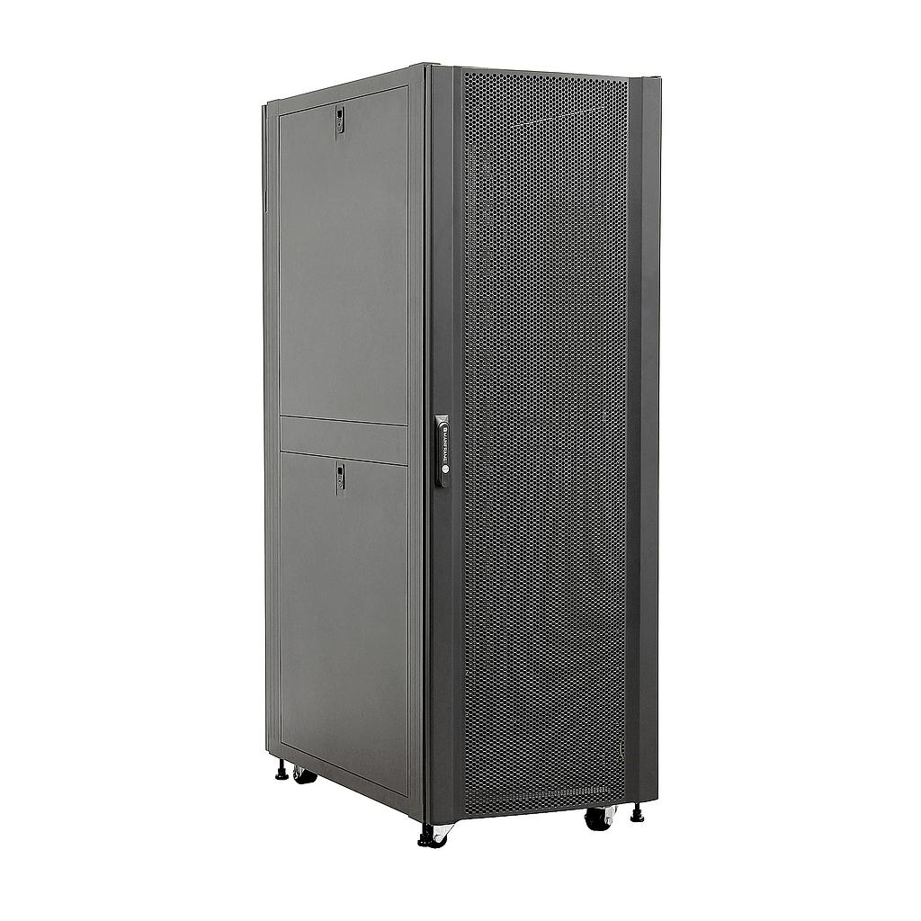 [MFSCAB32U] MAINFRAME 32U CLOSED CABINET W/STEEL MESH FRONT & REAR DOORS