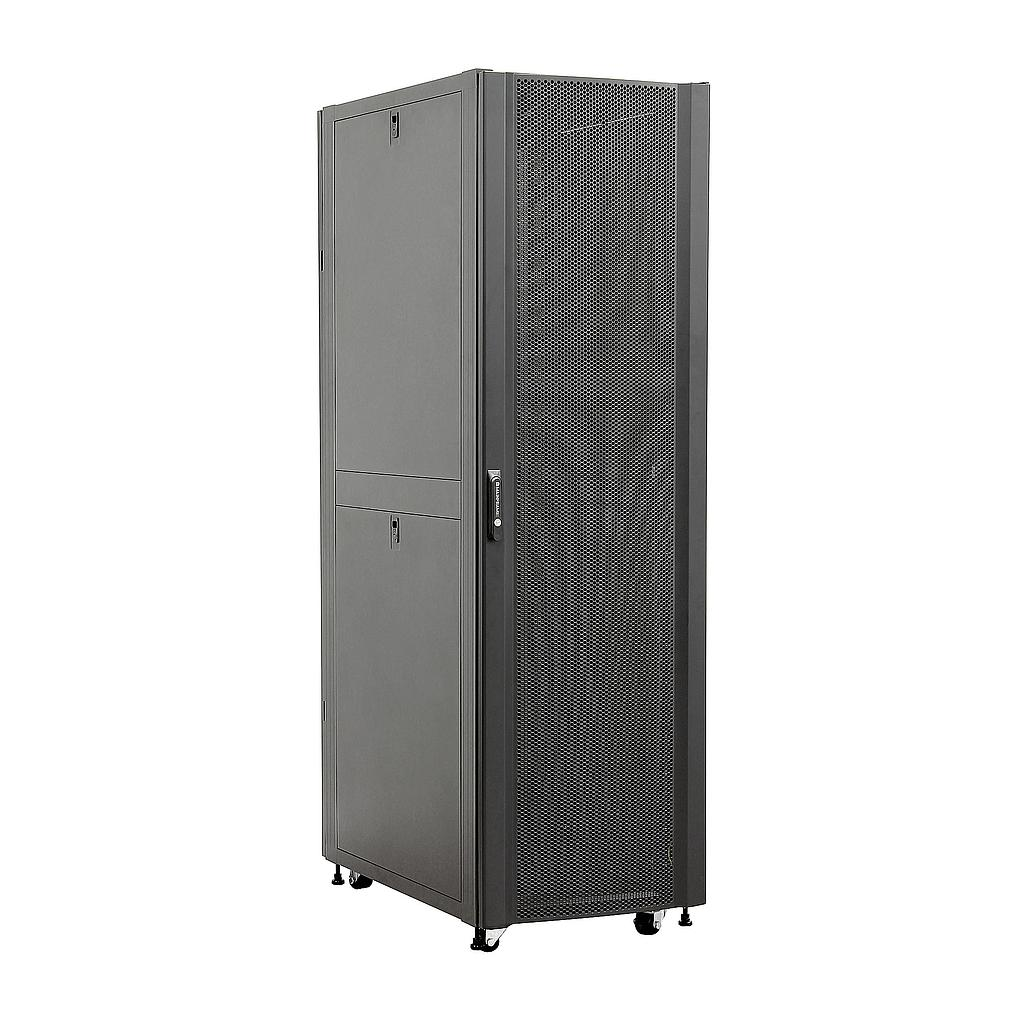 [MFSCAB42U] MAINFRAME 42U CLOSED CABINET W/STEEL MESH FRONT & REAR DOORS