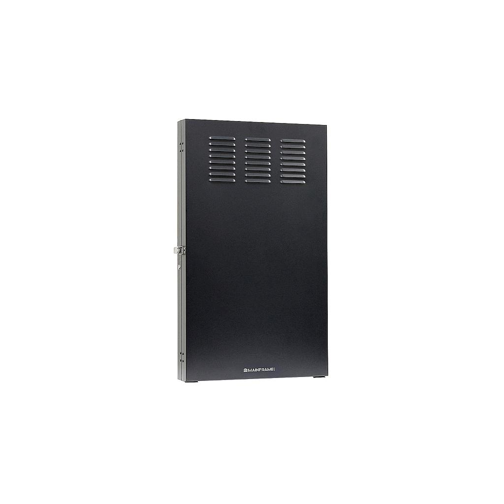 "[MFVCAB2U36D] MAINFRAME 2U 36"" DEEP VERTICAL WALL MOUNT RACK ENCLOSURE"