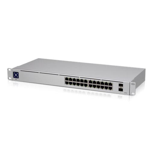 [UBUSW24] UNIFI GEN2 SWITCH - 24 GIGABIT ETHERNET PORTS AND 2 SFP PORTS - NO POE