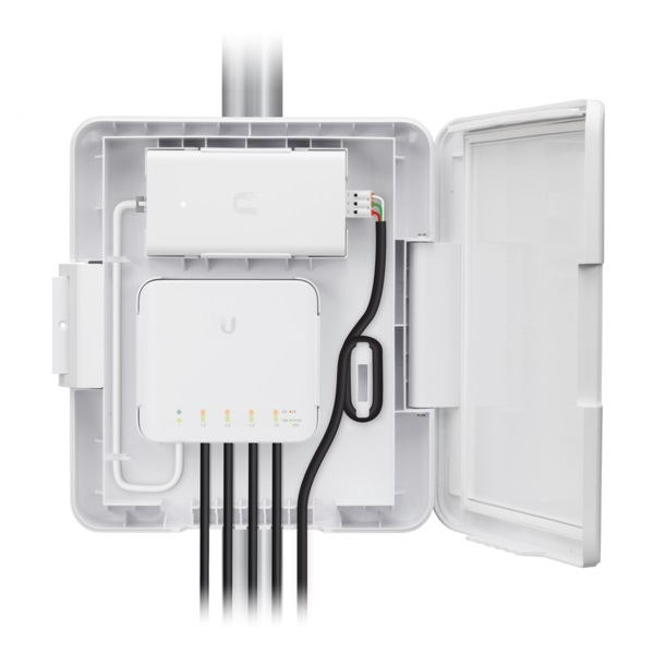 [UBUSWFLEXU] UBIQUITI OUTDOOR ENCLOSURE FOR [USW-FLEX]